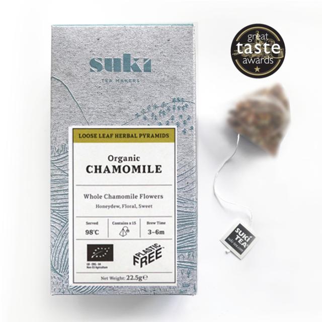 SUKI TEA カモミール<ティーバッグ>