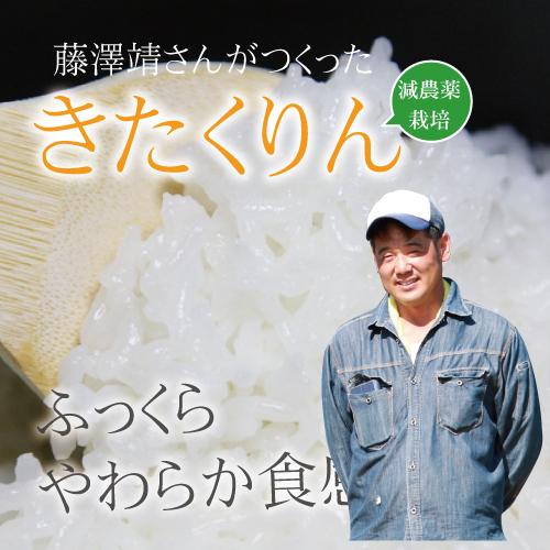 【令和2年産】藤澤さんの減農薬栽培 きたくりん 5kg 北海道銀山産