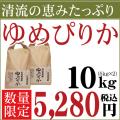 29年産 北海道産 清流ゆめぴりか 10kg