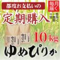 【都度お支払い 定期購入】清流ゆめぴりか 10kg