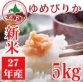 【都度払い定期】28年産 北海道産 清流ゆめぴりか 5kg