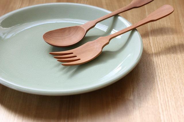 丸皿28cm プレーン ナチュラルグリーン