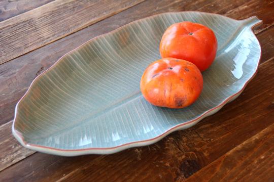 バナナリーフの大皿 (40cm) 2L