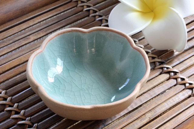 セラドン豆皿