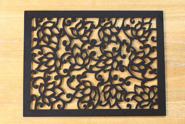 プレースマット(木製) ロータス グレイズ 40 x 30