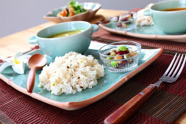 ぽってり可愛いスープカップ プレーン(12cm) オーシャングリーン