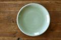 丸皿25cm プレーン ナチュラルグリーン