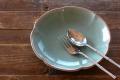 ロータス花のお皿(20cm)