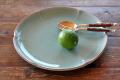 ロータス花のお皿(29cm)
