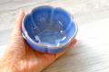 ロータス花の小鉢(10cm)ブルー