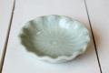 ロータスの葉の豆皿(7cm) ナチュラルグリーン