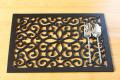 プレースマット(木製) クロスハート グレイズ 40 x 30