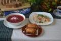 ロシアの家庭料理 - バラライカセット
