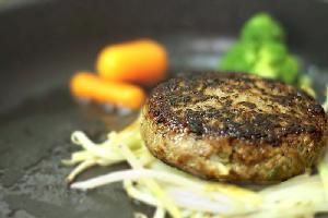 香味野菜 黒胡椒 ハンバーグ スパイシー サンドイッチ ハンバーガー