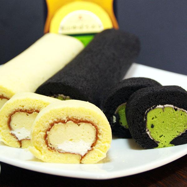 ゆば豆乳抹茶ロールケーキイメージ
