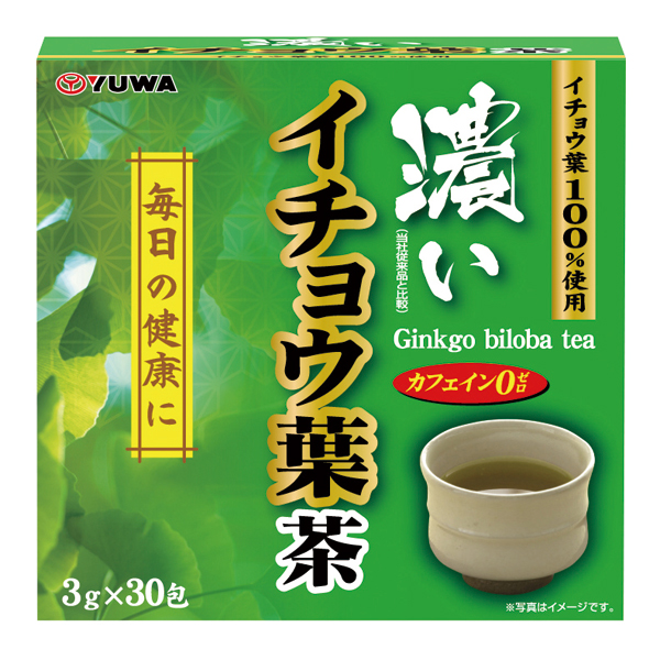 濃いイチョウ葉茶 30包