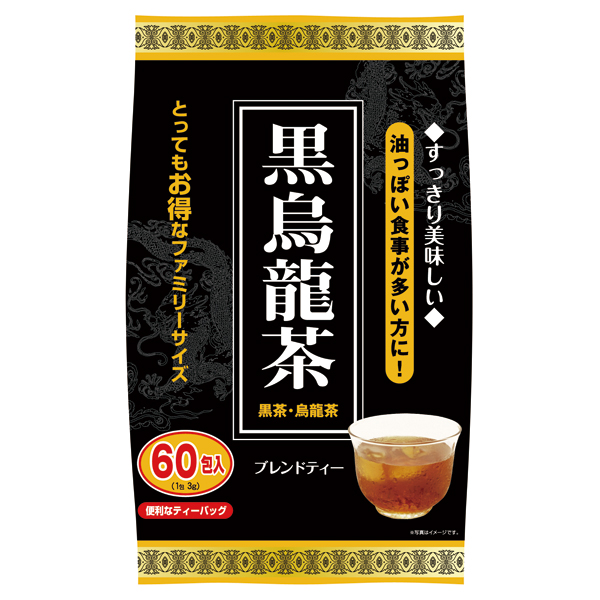 黒烏龍茶 60包