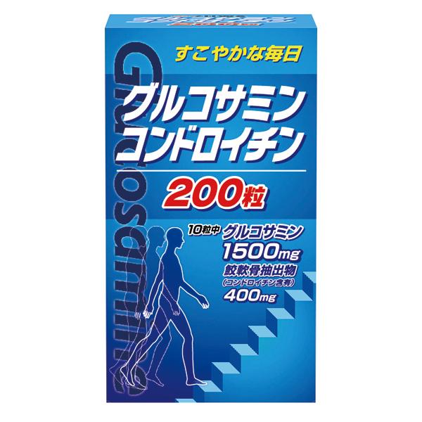 グルコサミン・コンドロイチン 200粒