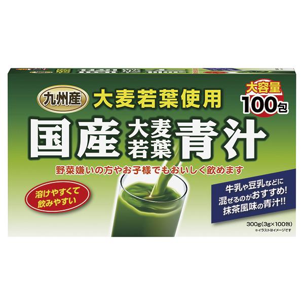 国産大麦若葉青汁 100包