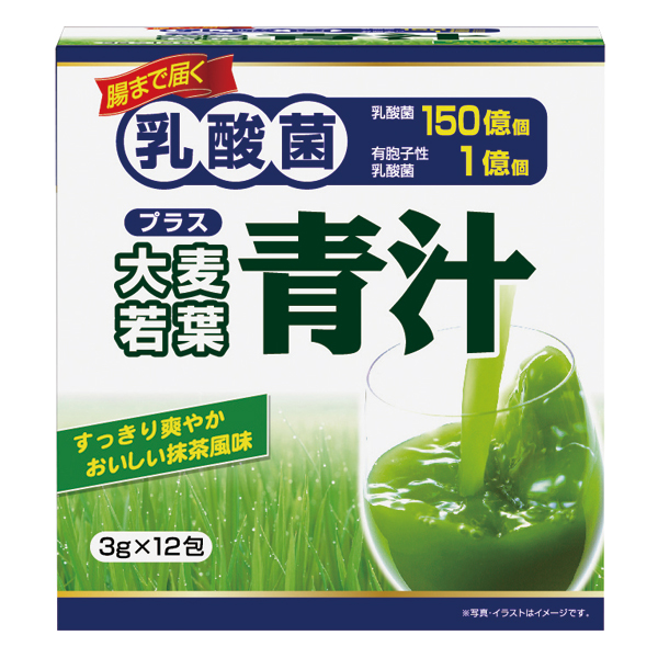 乳酸菌プラス大麦若葉青汁 12包