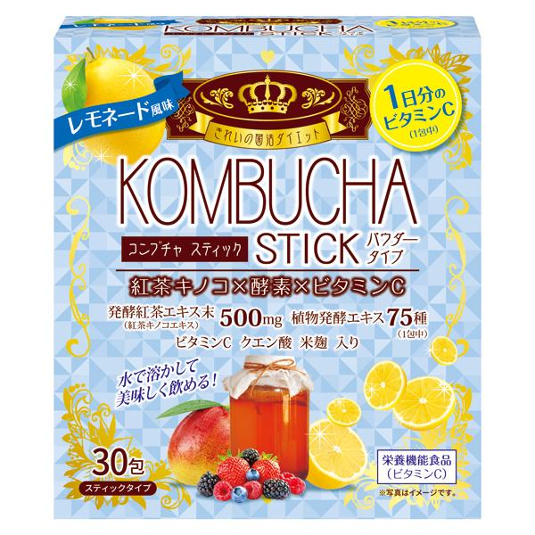 KOMBUCHA STICK レモネード風味 30包