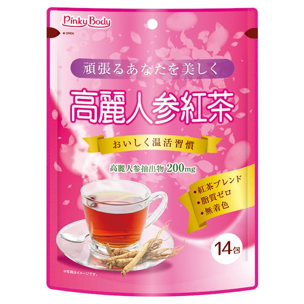 高麗人参紅茶 14包
