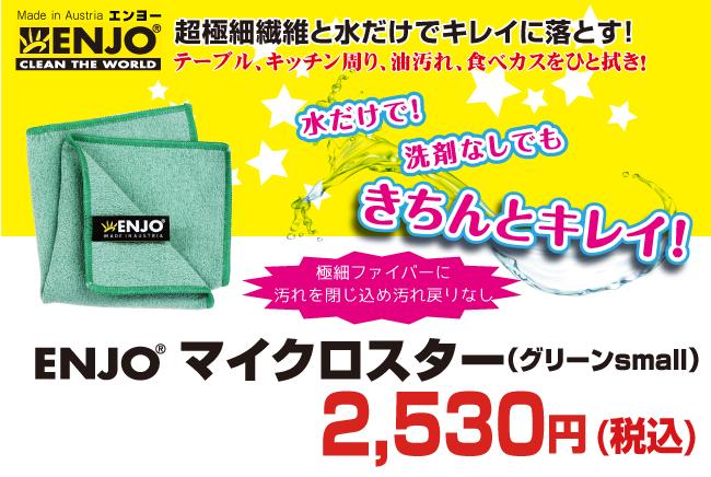 ENJO マイクロスター(グリーンsmall)【8500円以上購入で送料無料】