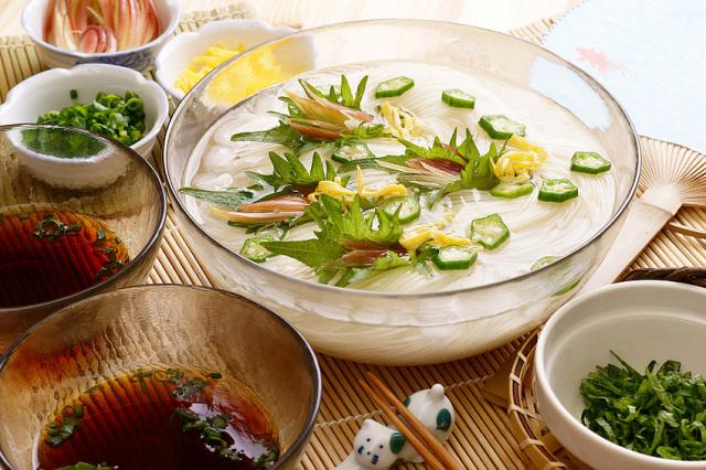 「極細そうめん最高級袋巻」化粧木箱入り20本入り(20本×1段)島原素麺sh-25