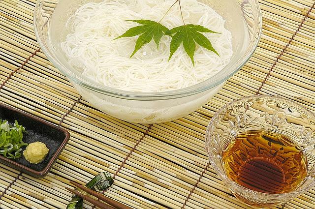 「極細そうめん最高級袋巻」化粧木箱入り24本入り(24本×1段)島原素麺sh-30