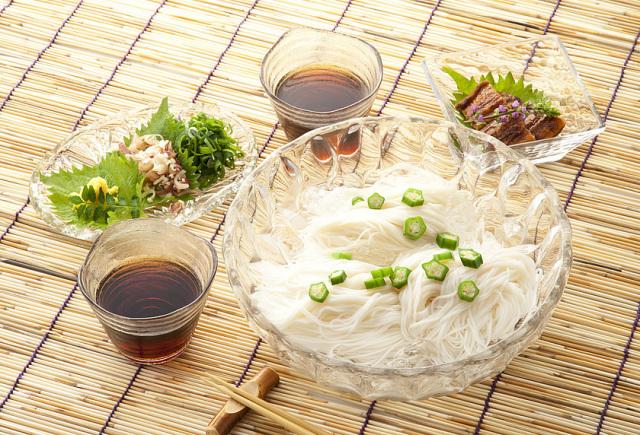 「昔ながらの手延べそうめん」袋入り10束入(500g)島原素麺sp-3