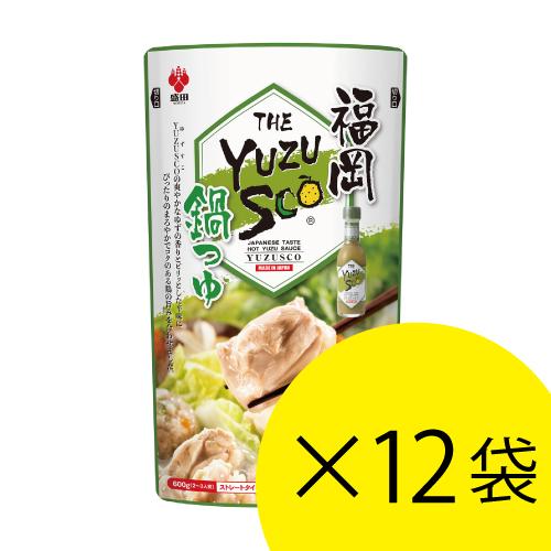 YUZUSCO鍋つゆ 12袋セット