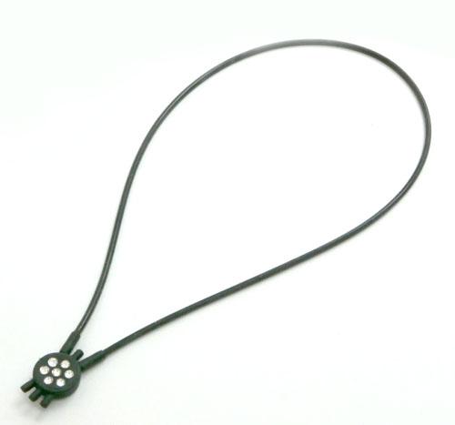 シングルネックレス 黒 Mサイズ