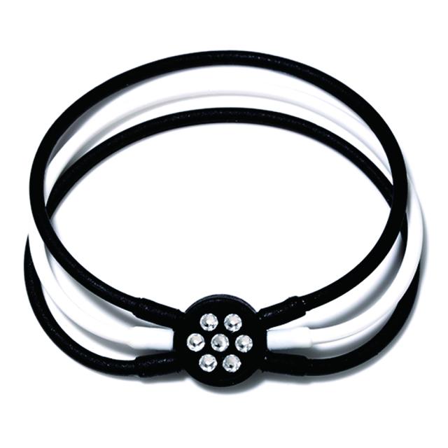 ブレスレット 黒&白