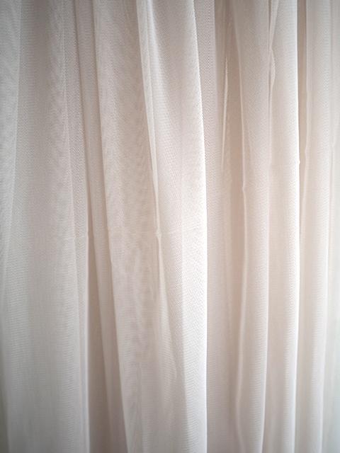 オンフィル ダンディエンヌ En fil d'Indienne カーテン TULLE Perle(W130xH280cm)