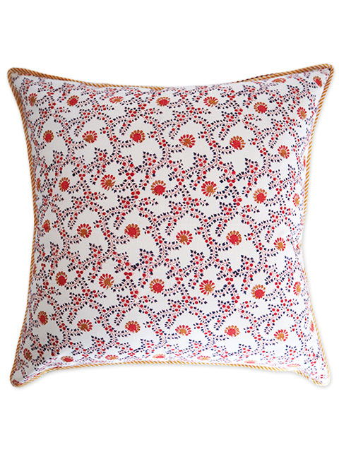 Jamini ジャミニ クッションカバー Cushion-cover・ANIMA OFFWHITE(W60xH60cm/Type.B)(カバーのみ)