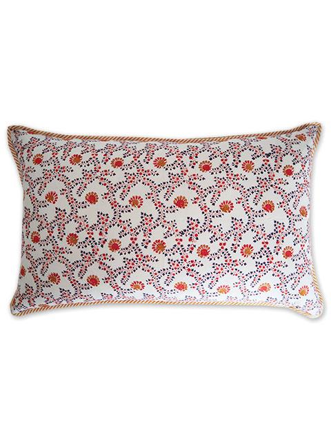 Jamini ジャミニ クッションカバー Cushion-cover・ANIMA  OFFWHITE(W65xH40cm)(カバーのみ)