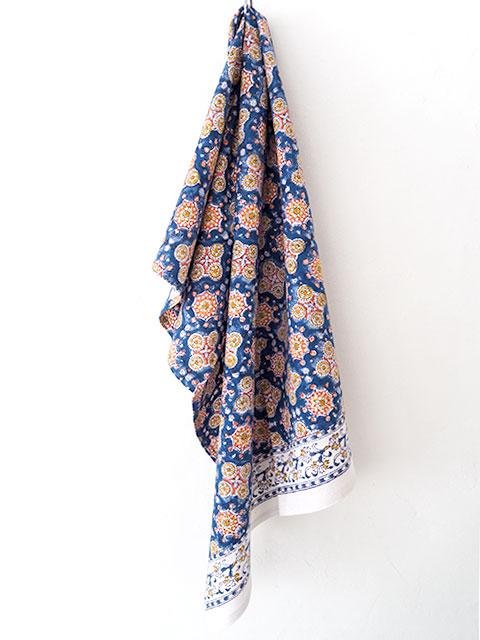Jamini ジャミニ キッチンタオル Kitchen Towel・ANTARA Blue(W50xH70cm)