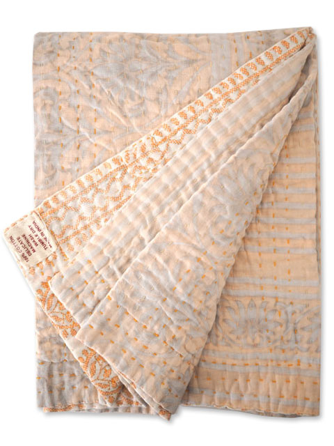 『SALE セール50%OFF』ジャネット ファリア ヴィンテージカンタ ラリーキルト シングルスロー Jeanette Farrier Vintage Kantha Single Throw・Type.F