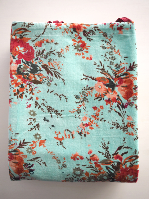 Bagaille バガイユ Velour Curtain ベロアカーテン・フォレスト ターコイズ(Forest Turquoise/100x260cm)Type.B