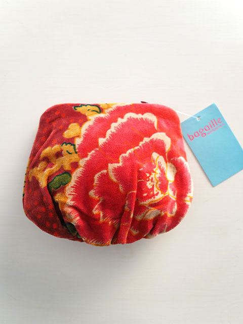 『SALE セール30%OFF』Bagaille バガイユ Money Pouch マネーポーチ(Peony Rouge)Type.A