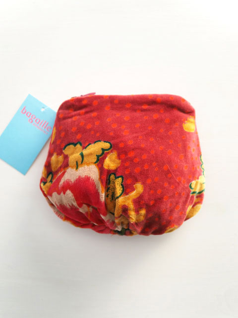 Bagaille バガイユ Money Pouch マネーポーチ(Peony Rouge)Type.A