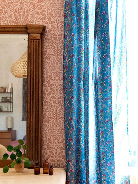 Jamini ジャミニ カーテン Curtain・ANAMIKA Jean(W110xH250cm)(1枚)