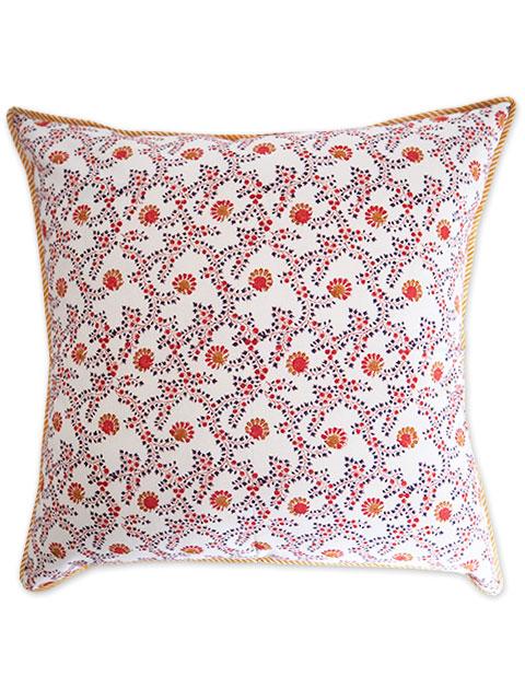 Jamini ジャミニ クッションカバー Cushion-cover・ANIMA OFFWHITE(W60xH60cm/Type.A)(カバーのみ)