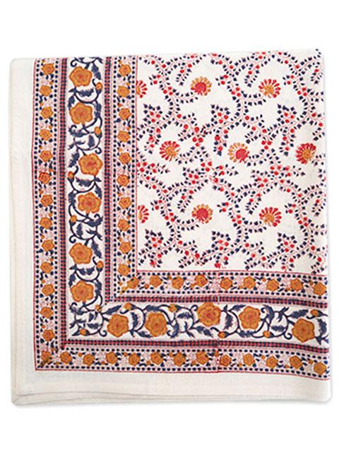 Jamini ジャミニ テーブルクロス Table cloth・ANIMA Offwhite(W240xH135cm)