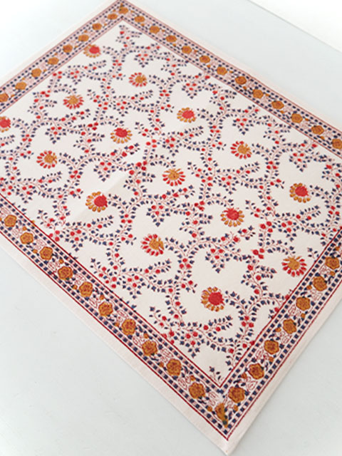 Jamini ジャミニ テーブルマット Table Mat・ANIMA Offwhite(W45xH35cm)