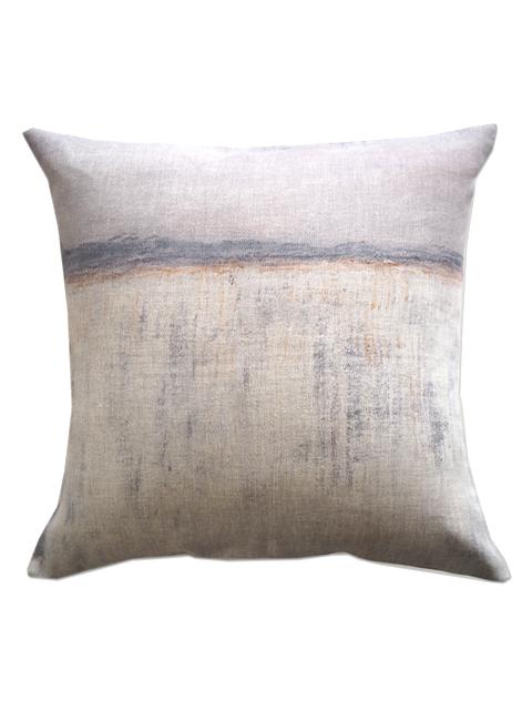 『SALE セール40%OFF』メゾン レヴィ Maison Levy リネンクッションカバー Cushion Cover Linen・LA CAIDA(W50xH50cm・カバーのみ)