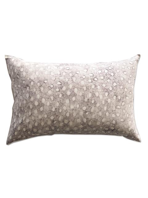 メゾン レヴィ Maison Levy リネンクッションカバー Cushion Cover Linen・POIS GRIS(W60xH40cm・カバーのみ)Type.B