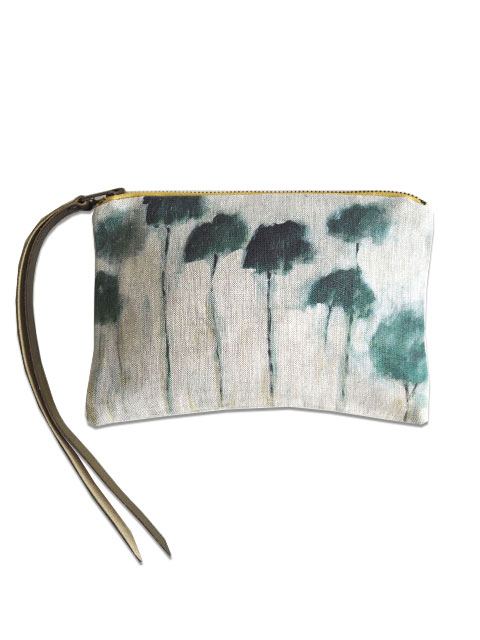 『SALE セール50%OFF』メゾン レヴィ Maison Levy ポーチ Zed Pouch・REFLEJOS PALMIERS(W21xH15cm)