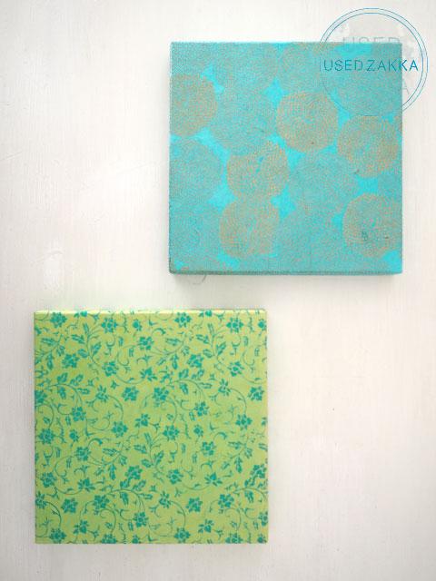 『USED ZAKKA』BOX & NEEDLE ボックス アンド ニードル・壁掛けパネルボックス Panel Box/Sサイズ・2枚セット