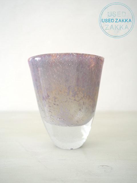 『USED ZAKKA』HENRY DEAN ヘンリー ディーン ガラス製フラワーベース 花器・JULIETTE/S/CORZO